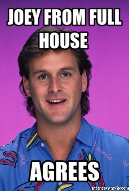 Cheesy stock music ruins videos - Joey from Full House agrees.